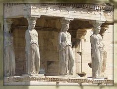 The Porch of the Caryatids, Acropolis, Athens, Greece