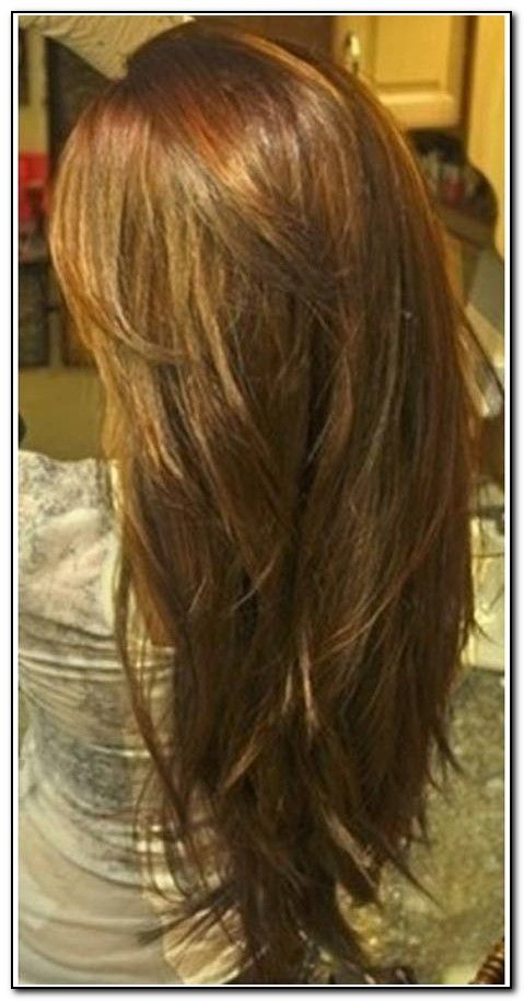 Long Hair With Layers Back View Download Page Beauty