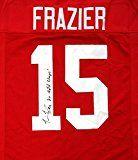 Tommie Frazier Nebraska Cornhuskers Authentic Jerseys