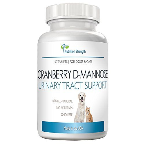 Sponsored Cranberry D Mannose Antioxidant Urinary Tract Support For Dogs And Cats Prevents And Eliminates Uti N Bladder Infection In Dogs Dog Uti Dog Brain