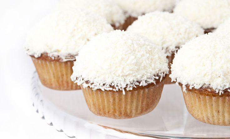 Mini Coconut Cupcakes