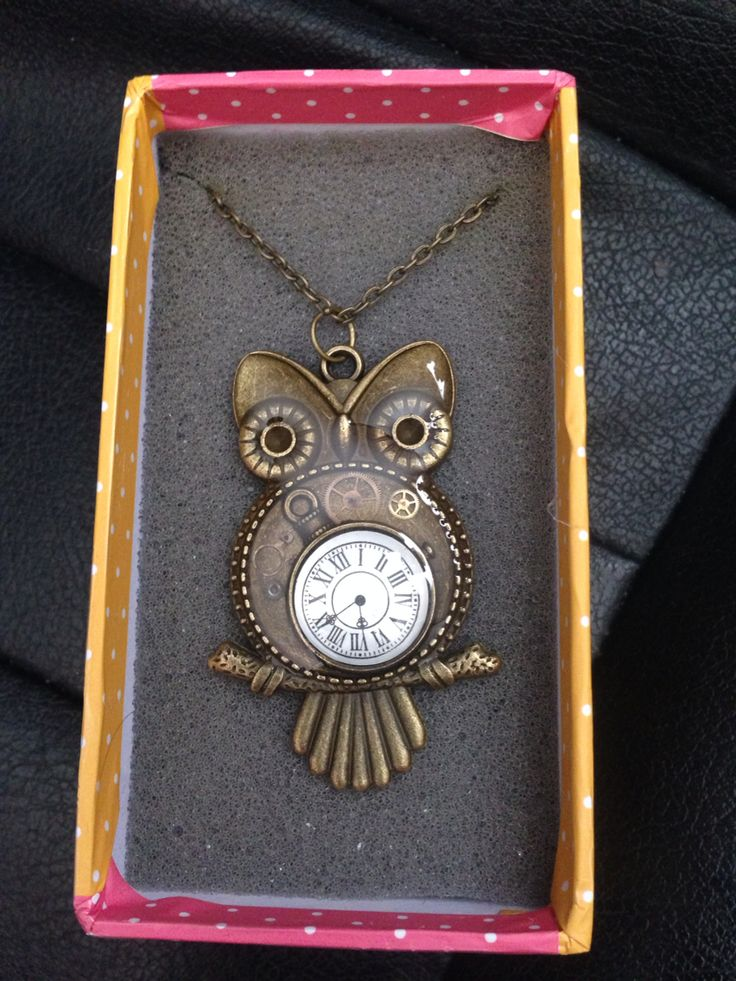 Owl bezel with watch parts
