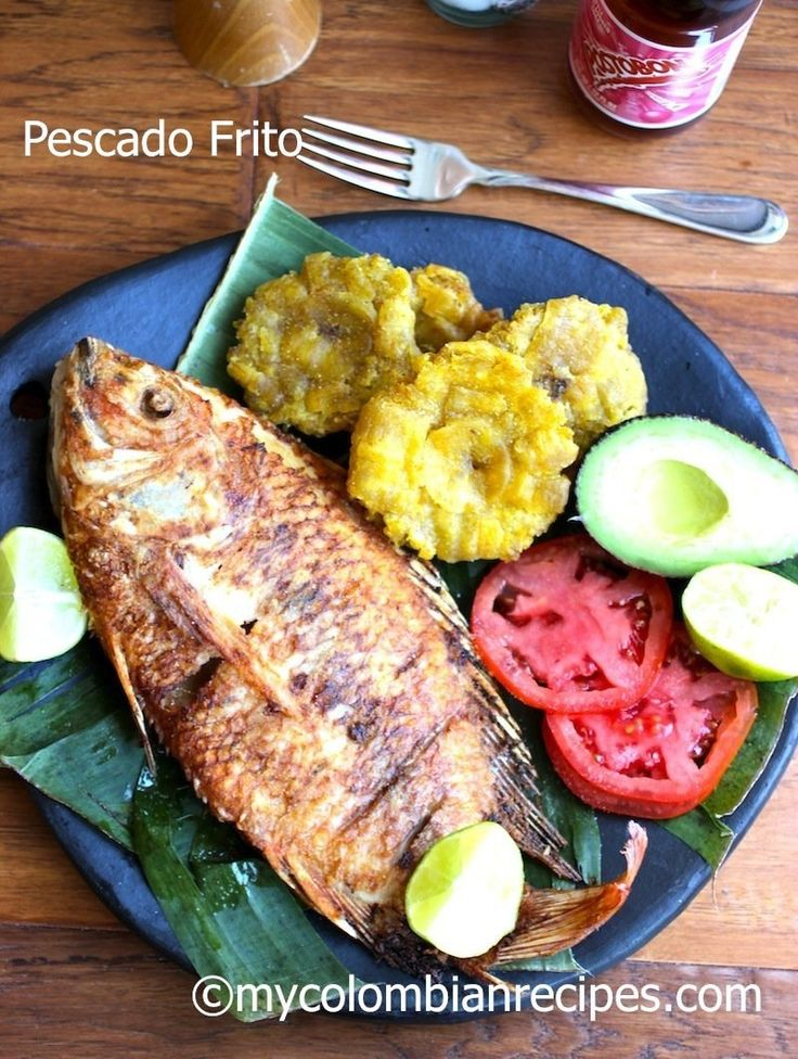 Pescado Frito Colombiano (Colombian-Style Fried Whole Fish) FoodBlogs.com