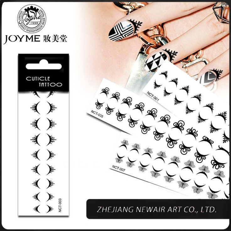 Cheap tattoo kits for sale, Buy Quality tattoo furniture directly from China tattoo text Suppliers: 					Product name: Joyme Cuticle Tattoo				Style: New-arrival water transfer temporary nail cuticle tattoos				Mate