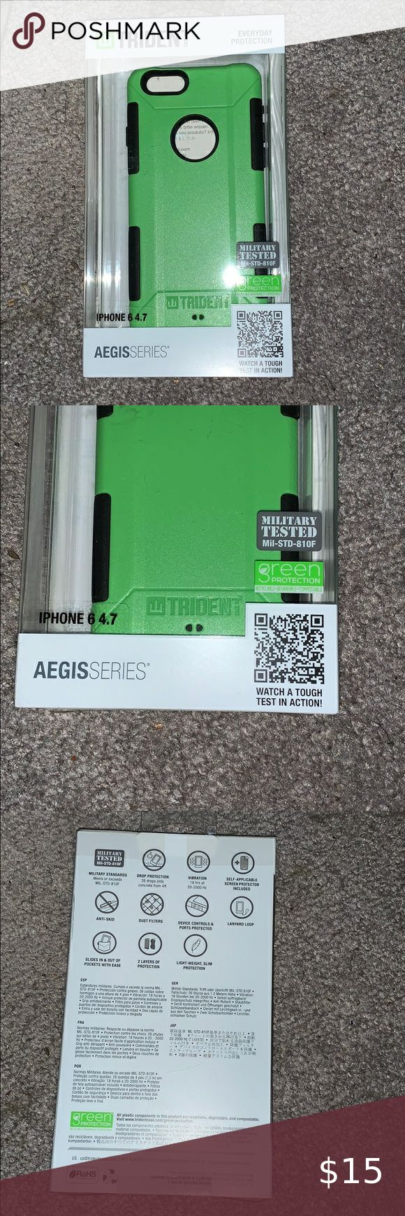 iPhone 6s phone case Brand new iPhone 6s case lime green