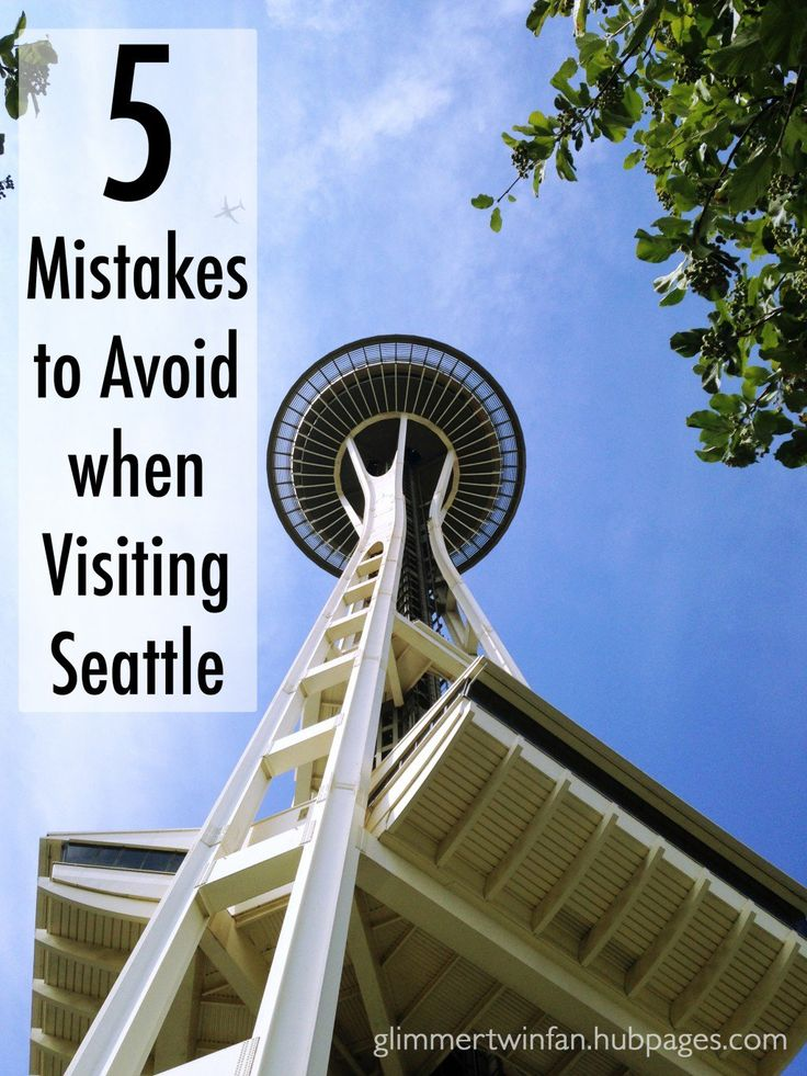 If you are planning a visit to Seattle, Washington, don't make these 5 mistakes that my family made. You'll have a much better time than we did.
