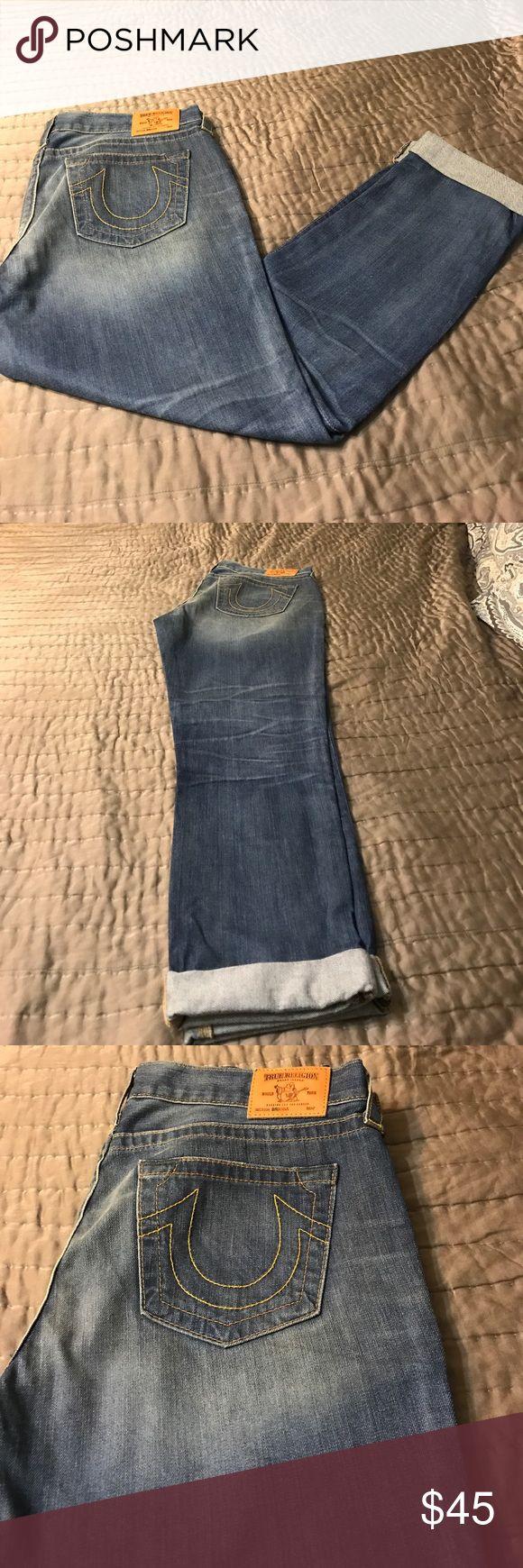 True religion boyfriend cut jeans Hundred percent cotton Brianna True religion jeans True religion Jeans Boyfriend