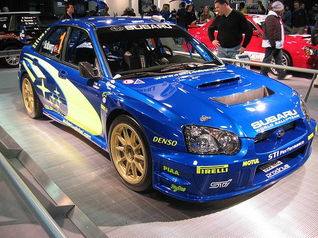 subaru impreza wrc engine spec