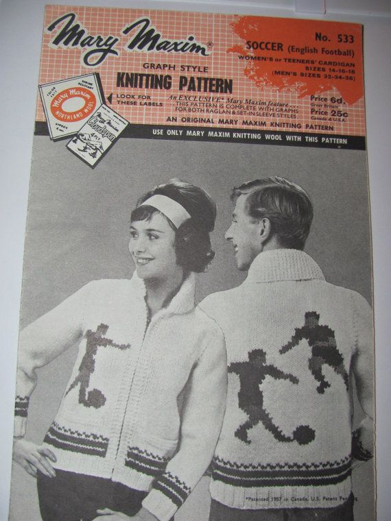 75 Best images about Vintage Mary Maxim Cowichan Patterns on Pinterest Snow...