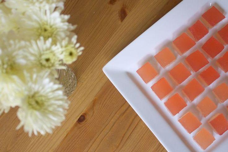 Champagne Rhubarb Jelly Shots recipe on Food52