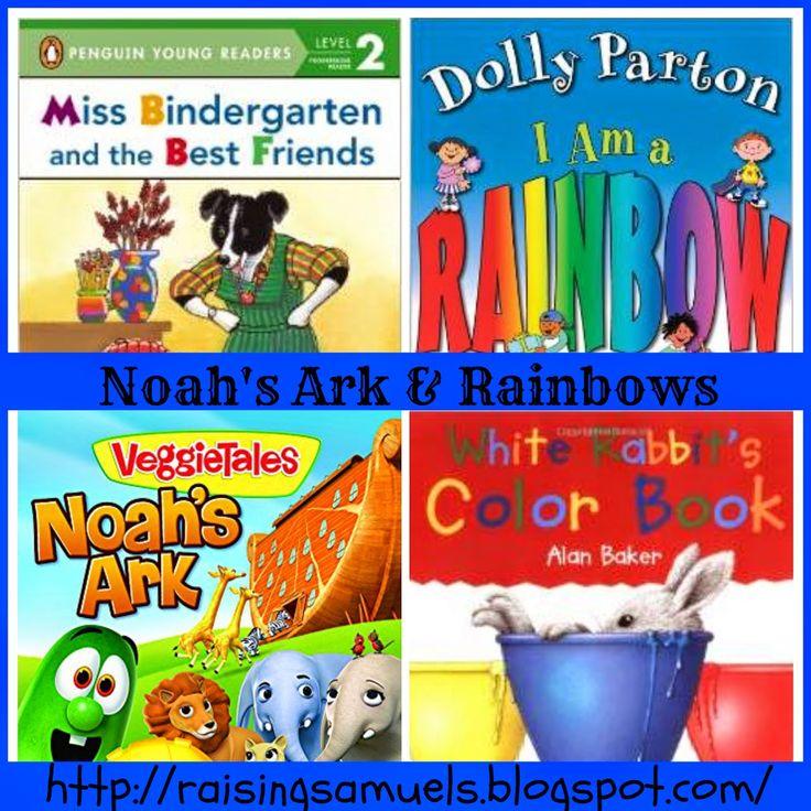 Raising Samuels Homeschool: Noah's Ark and Rainbows (Homeschool Week 29)