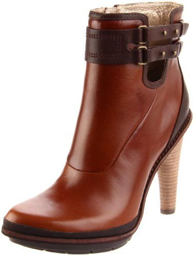 These boots are gorgeous and pretty well made. I love them! The only thing I don't like is the pad on the end of the heel. Very little grip and can be a tad slippery when it rains.