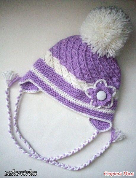 FREE PATTERN INSTRUCITONS Cochet cap for autumn-winter | make handmade, crochet, craft @ DIY Home Ideas