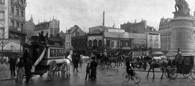 * In de 14e eeuw was Parijs een grote handelstad met zo'n 200.000 inwoners, groter als Londen.  * Op 14 juli 1789 vond bestorming van de bastille plaats, dit was het begin van de franse