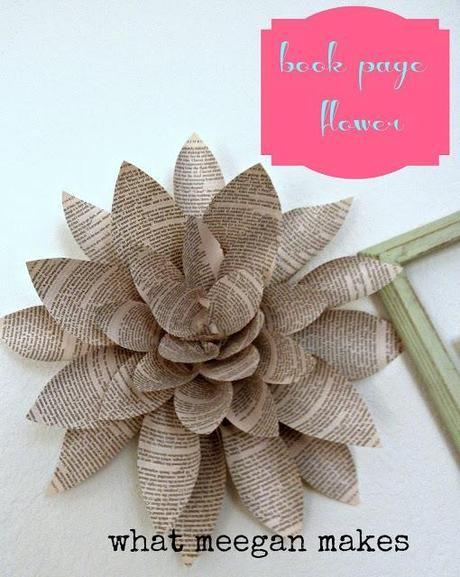 DIY-Tipp: Basteln mit alten Büchern und schönem Papier