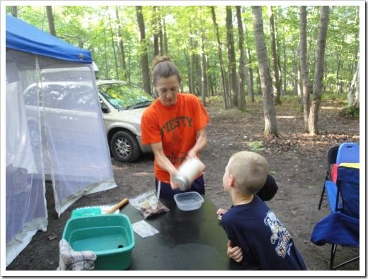 #Glutenfree Soaked Blender Pancakes and a three day/two night #gf camping menu plan with links. Woo-hoo!