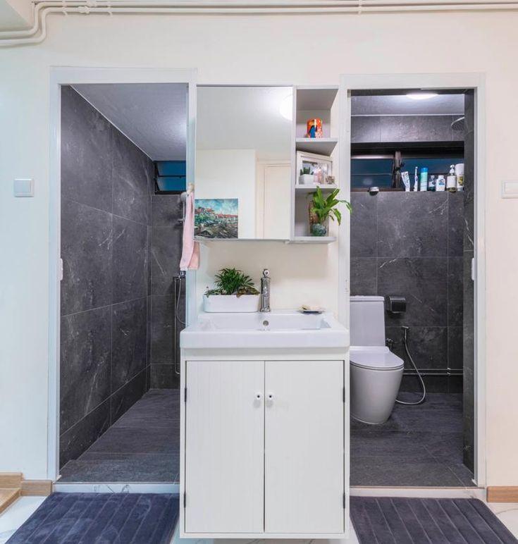 Home Design Ideas For Hdb Flats: This 70s HDB Bathroom Layout Is Making A Return In BTO