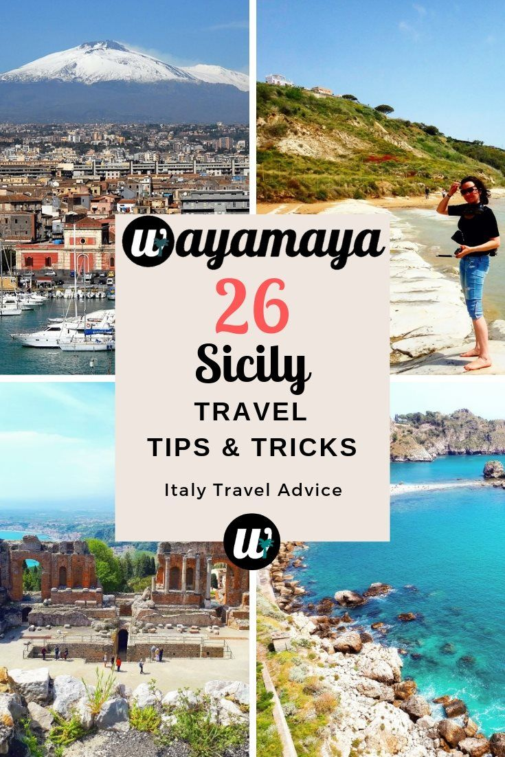 26 Useful Sicily Travel Tips And Tricks Sicily Travel Travel