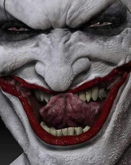 Dark art: Joker