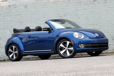 Voltswagon beetle  Convertible