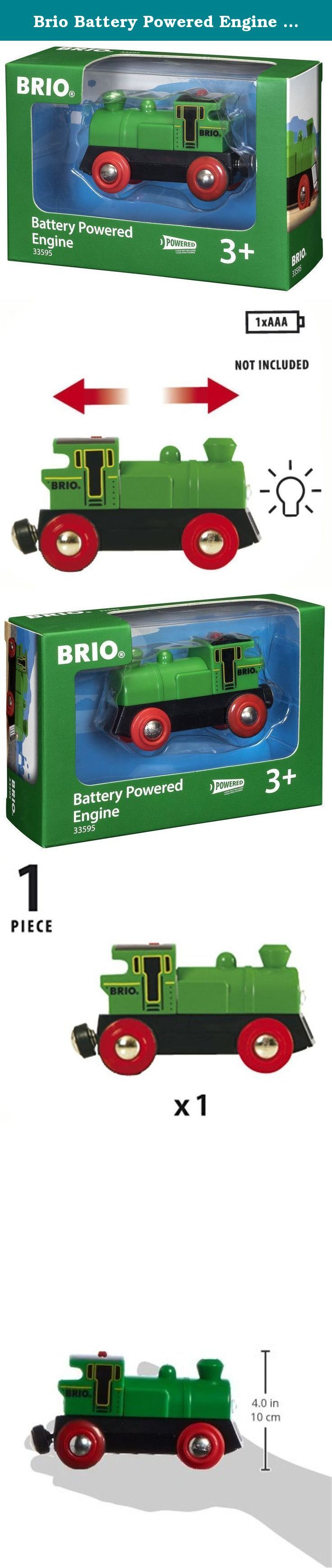 Brio Battery Powered Engine Train. Founded in Sweden in 1884, Brio makes the highest quality wooden toys that have delighted children and created happy memories for generations. Both educational and fun, Brio's uncompromising focus on design, quality and craftsmanship create toys of lasting value that stimulate creativity and imagination. Engaging play and learning are integral themes in all Brio toys, satisfying a child's educational needs and growing with them through their various…