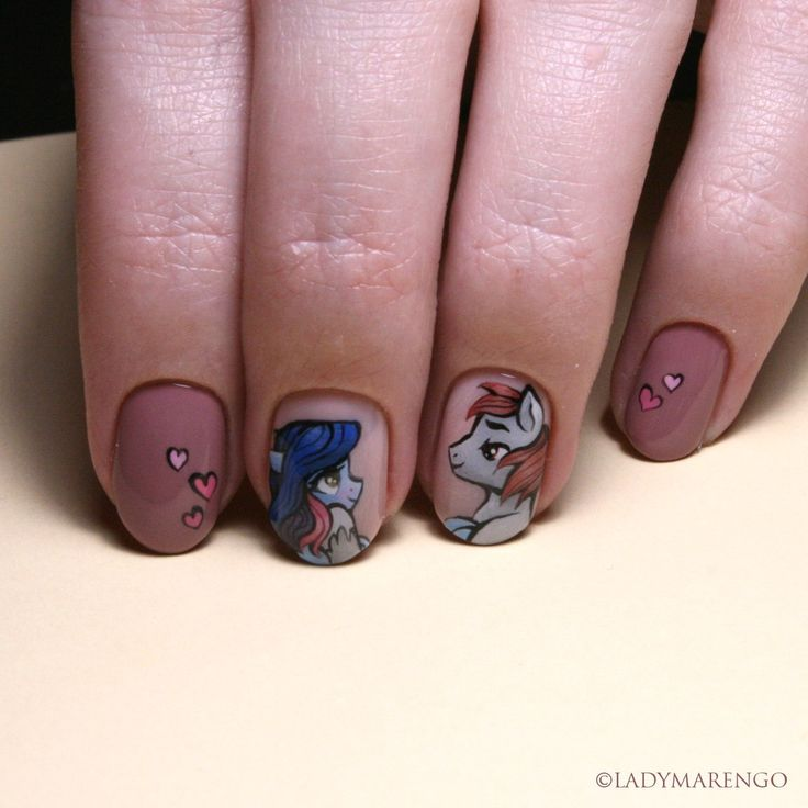 #geeknails #ladymarengo #шеллак #гельлак #нейларт #ногти #маникюр #дизайнногтей #nailart #naildesign #nails #pony #mlp #mylittlepony #пони #майлитлпони #млп #брони
