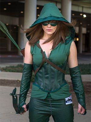 Image result for arrow costumes female