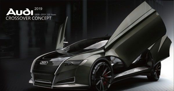 Audi Crossover Concept by Bolun Wang
