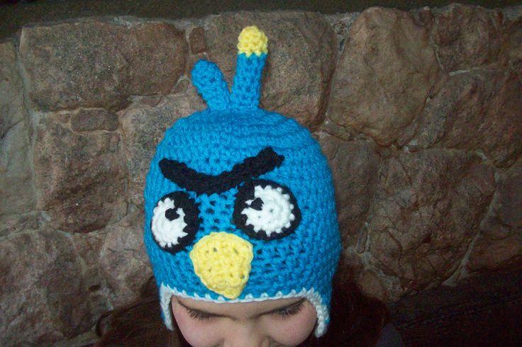angry birda a crochet
