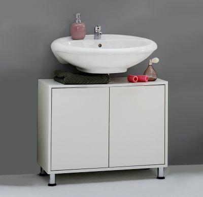 Die besten 25+ Waschbeckenunterschrank weiss Ideen auf Pinterest - badezimmer waschtisch mit unterschrank