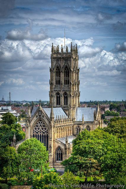 Doncaster Minster (St George's Church), via Flickr.