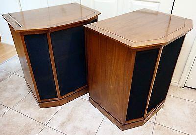 Vintage 1971 Altec Lansing 875A Granada Floor Standing HiFi Tower Home Speakers