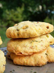 Alter Gusto   Cookies salés aux pistaches, thym & chèvre -