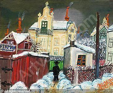 Olle Olsson-Hagalund (1904-1972): Röda planket