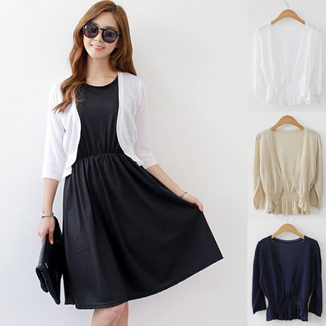 Cheap cardigan dress, Buy Quality cardigan polo directly from China women Suppliers: Note:Due to the capes were made in different batches,so the elastic band may be 4 or 3 ,it does not affect the size and