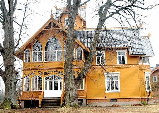 Villa Lilleborg in1862. Norway