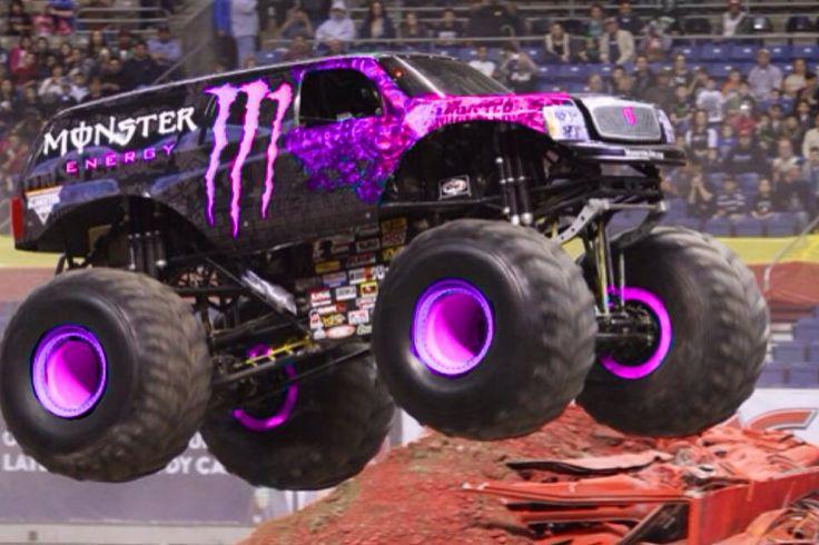 Purple Monster Energy