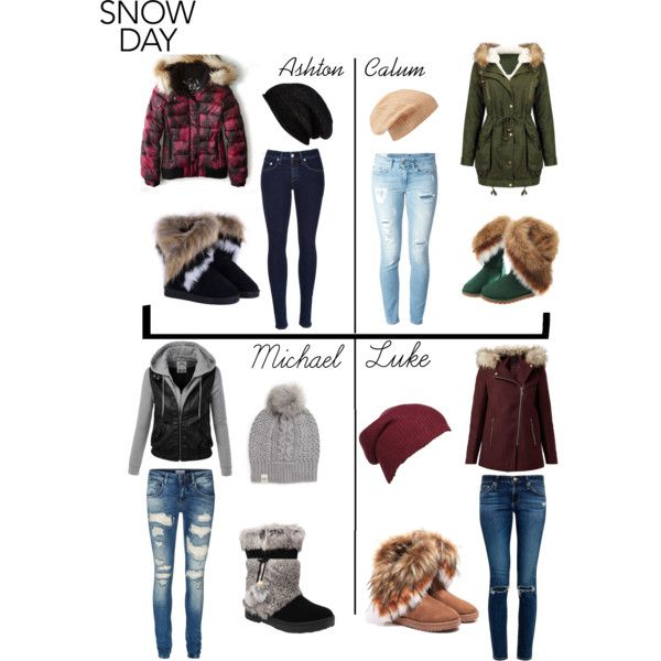 5sos preference- Snow Day!  Inspired by the insanely cold weather in the U.S. right now.  Comment your Fav!