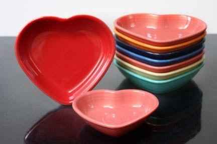 Fiesta® Heart Shaped Bowls | HLCCA