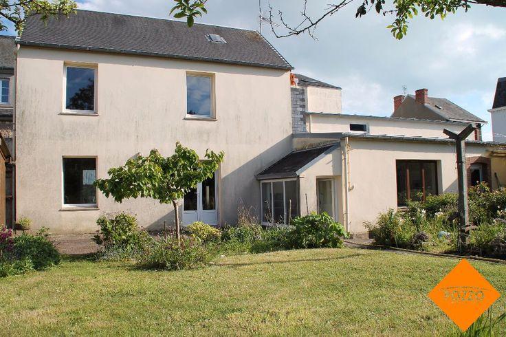 582 best images about immobilier bord de mer manche 50 on pinterest - Une maison un jardin saez saint paul ...