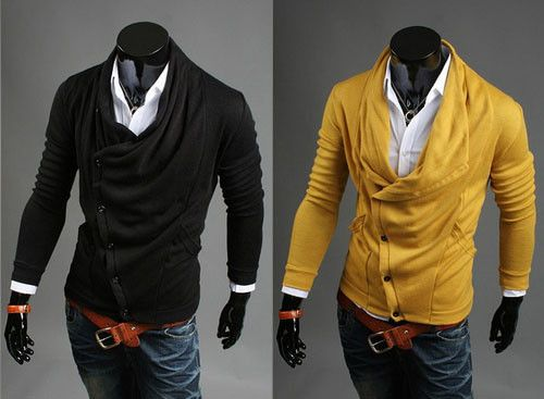 Side Button Cardigans