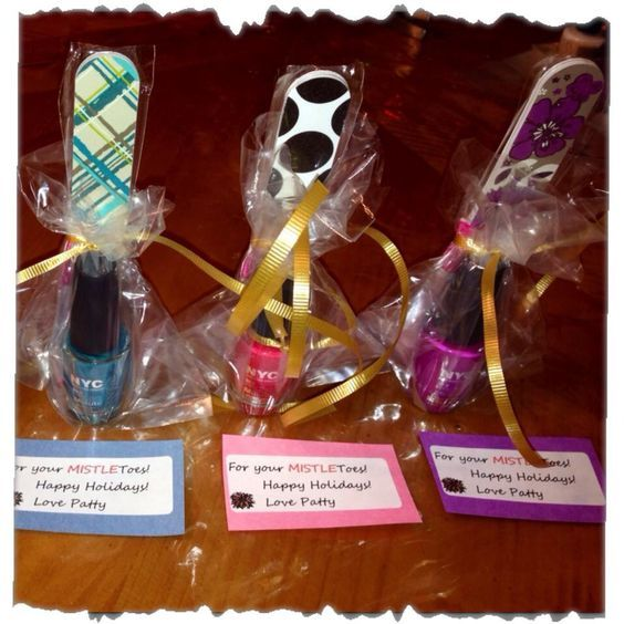 "Thirty-One Nail Files and nail polish gift idea! "" For Your MISTLE Toes"""