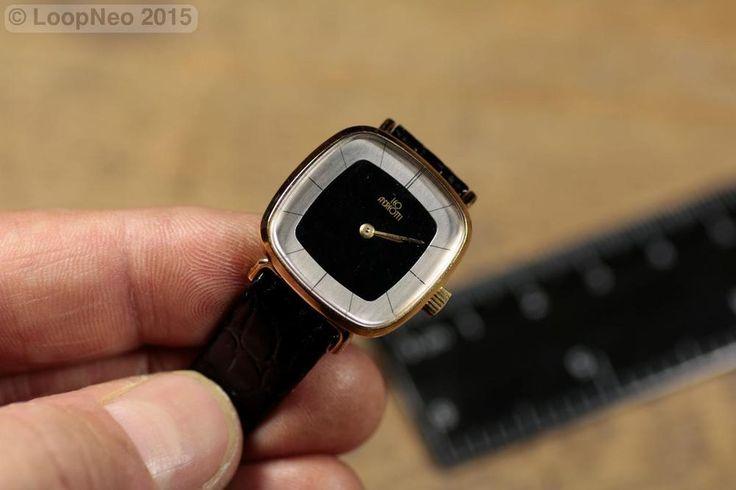Reloj de pulsera a base de cuerda. - Leo Andreotti Chapado en Oro http://r.ebay.com/2yiEn5 vía @ebay @petitsencants #PetitsEncants #ebay #loopneo #loopneostudio #Brocanter #wristwatch #PetitsEncantsBCN #Oddities #Antiques #clock #watch #wristwatch