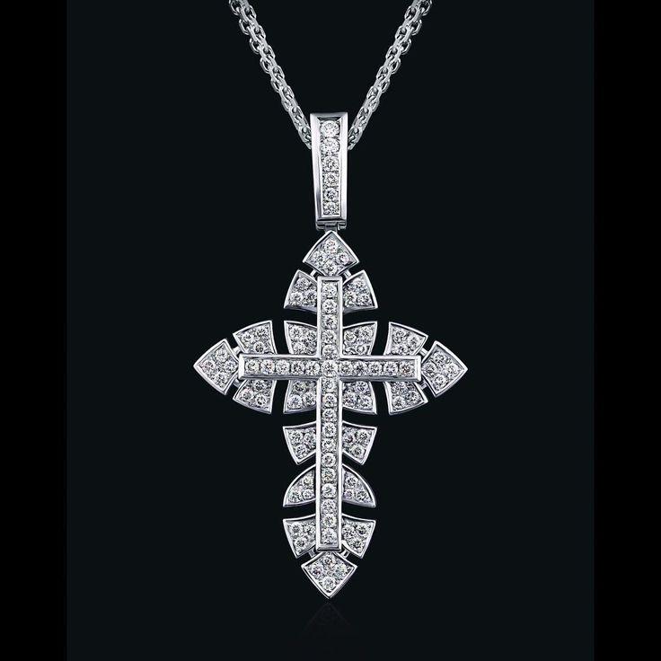 Фото nikolay_romanov_: Крест бриллиантовый. #ювелирноеиздел�... #30702