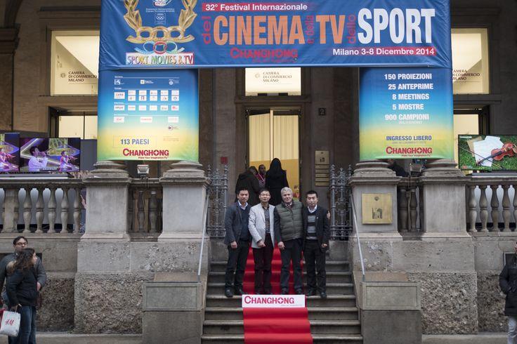 Sport Movie & TV 2014 - Changhong sponsor dell'evento. Camera di Commercio Milano