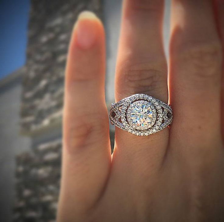 21 best Emerald Cut Engagement Rings images on Pinterest Emerald