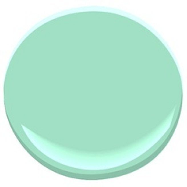 benjamin moore mint green paint colors for your home