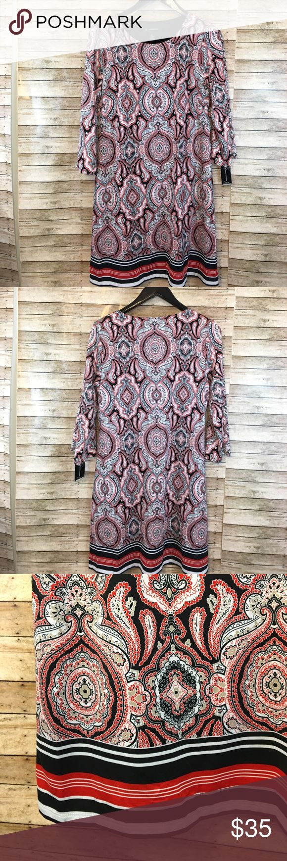 NEW! Macy's INC Tunic/Dress NEW with tags never worn. Lined fabric, can be worn as a dress or as a Tunic with leggings INC International Concepts Dresses