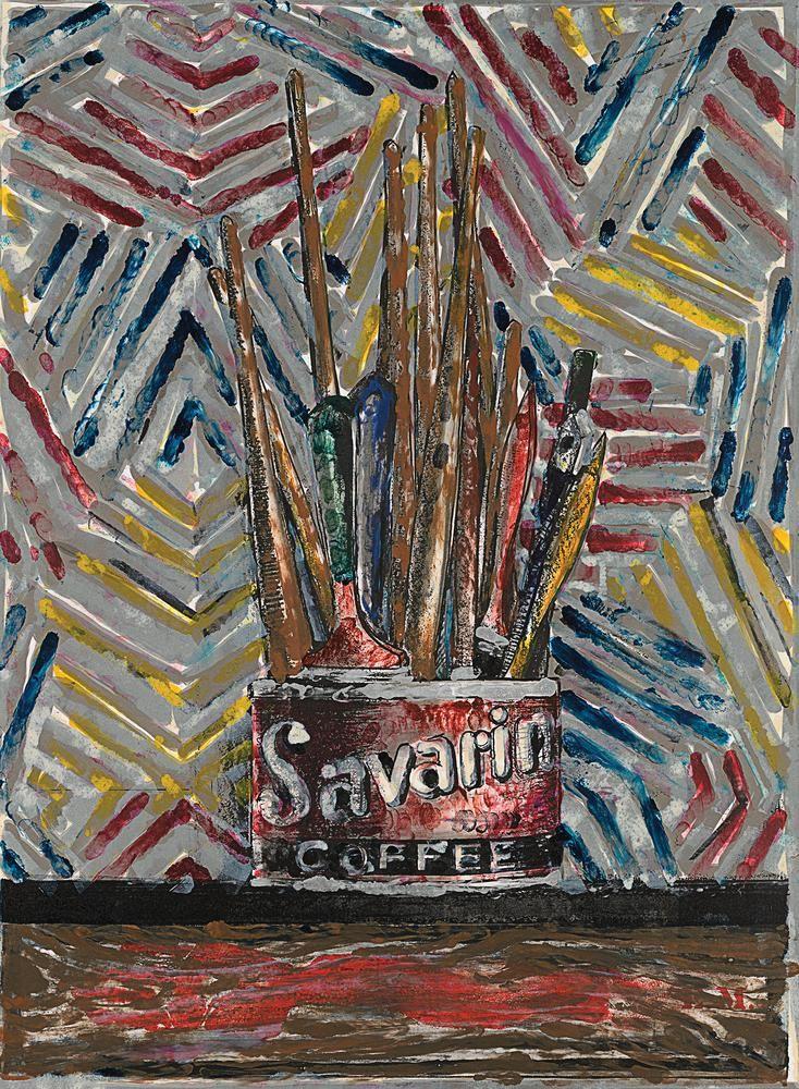 'Savarin' (1982) Photo: Savarin, 1982 © Jasper Johns and ULAE/Licensed by VAGA, New York, NY, Published by Ulae