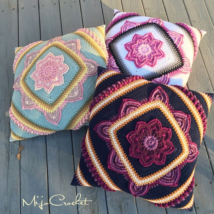 In Bloom CAL Pillow By Johanna Lindahl - Free Crochet Pattern - (ravelry)